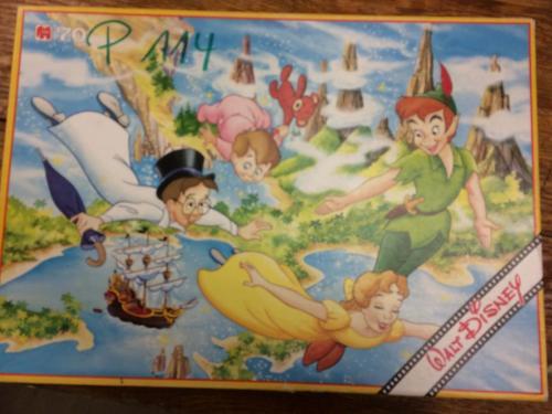 P114 - Puzzel Peter Pan