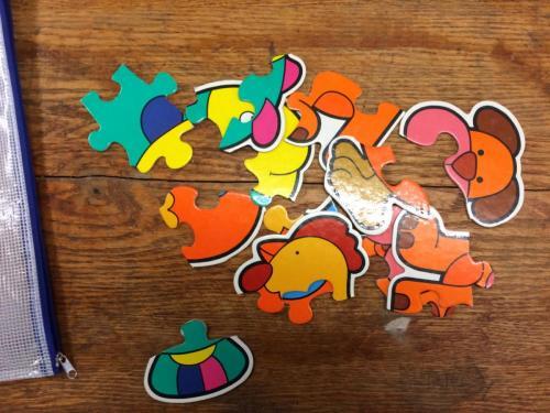 P160 - Puzzels dieren