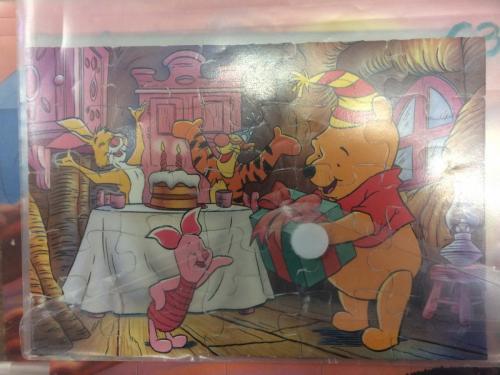 P162 - Puzzel Winnie the Pooh