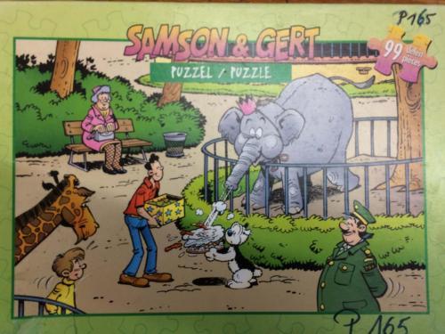 P165 - Puzzel Samson en Gert