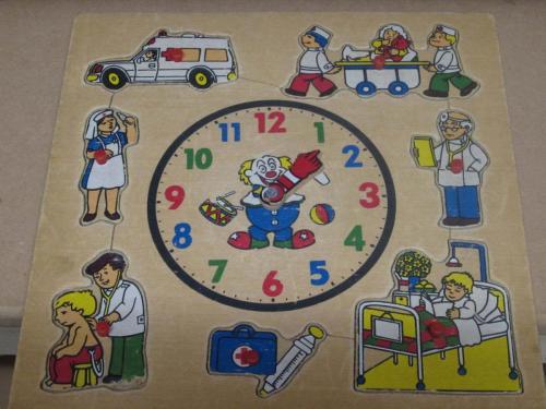 P19 - Houten puzzel ik ben ziek