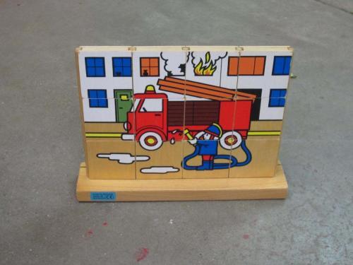 P2 - Houten puzzel brandweer