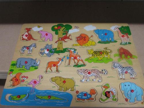 P28 - Houten puzzel Zoo