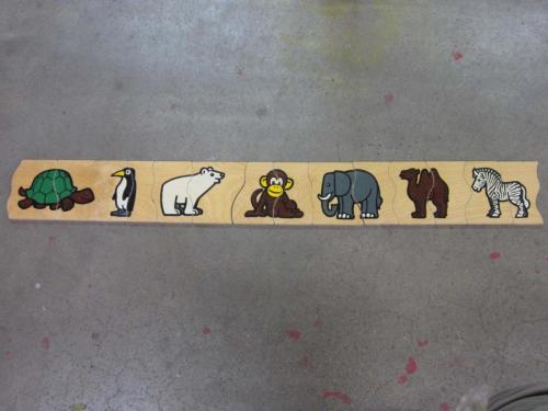 P30 - Houten puzzel dieren