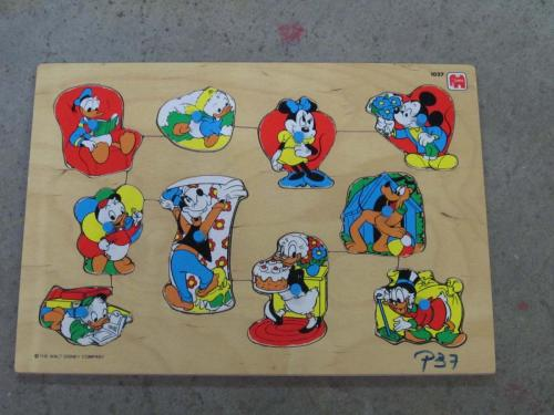 P37 - Houten puzzel Disney