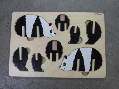 P42 - 3D puzzel Panda