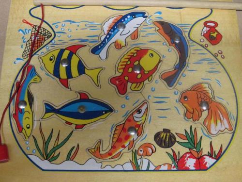 P55 - Houten puzzel vissen