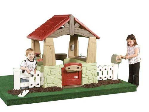 T17 - Speelhuis en tuin